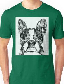 Boston Terrier Dog Black And White Art - Sharon Cummings Unisex T-Shirt