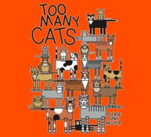 Too Many Cats Kids Clothes