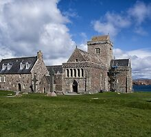 Iona Abbey Scotland by jacqi