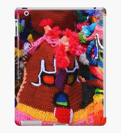 Colorful Knit Masks iPad Case/Skin