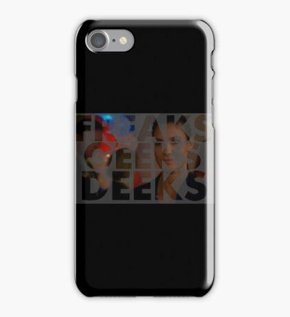 Freeks Geeks Deeks iPhone Case/Skin