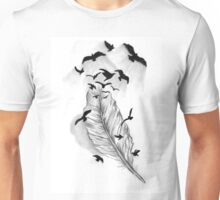 Birds of a feather..... flock together Unisex T-Shirt