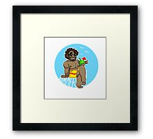 Summer! - Small Dude Collection Framed Print
