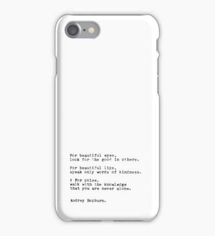 Quote Me on It: Look for the Good iPhone Case/Skin