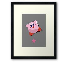 Kirby - Super Smash Brothers Framed Print