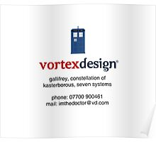 vortex design Poster