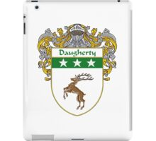 Daugherty Coat of Arms/Family Crest iPad Case/Skin
