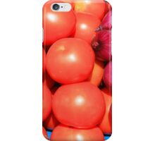 Tomatoes and Red Onions iPhone Case/Skin