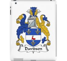 Davidson Coat of Arms/Family Crest iPad Case/Skin