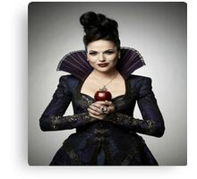 Once Upon A Time Evil Queen Regina Canvas Print