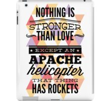 Nothing is Stronger iPad Case/Skin