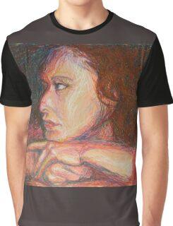 Self Portrait In Profile Graphic T-Shirt