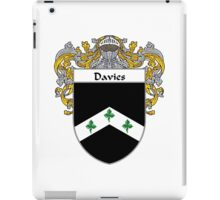 Davies Coat of Arms/Family Crest iPad Case/Skin