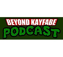 Beyond Kayfabe Podcast - Turtle Power! Photographic Print