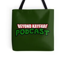 Beyond Kayfabe Podcast - Turtle Power! Tote Bag