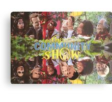 Community - Puppet Show! Metal Print