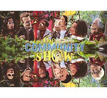 Community - Puppet Show! Photographic Print