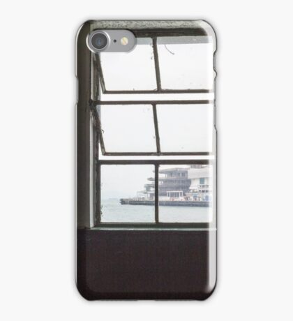 Looking out from the ferry terminal iPhone Case/Skin