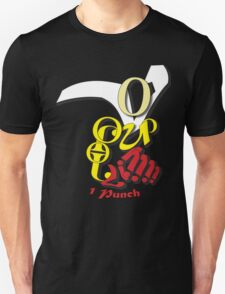 1 Punch Typography Unisex T-Shirt