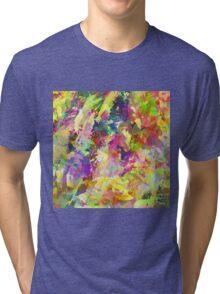 Floral Haze Tri-blend T-Shirt