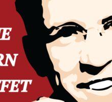 Save the Weyburn KFC Buffet Sticker