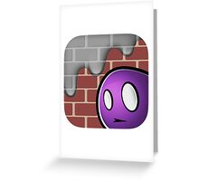 paintslasher icon Greeting Card