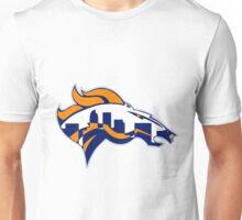 Broncos skyline Unisex T-Shirt