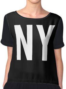 New York Chiffon Top