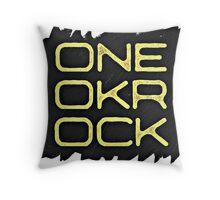 ONE OK ROCK Throw Pillow