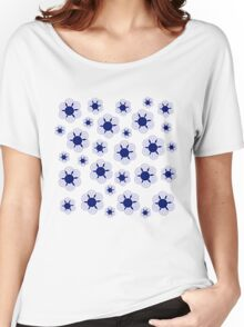 Blue Daisies Women's Relaxed Fit T-Shirt