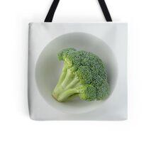 Raw broccoli Tote Bag