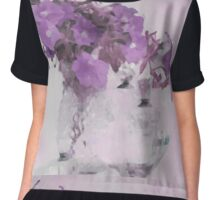 The Broken Branch - Digital Watercolor Chiffon Top