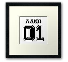 Avatar: Aang Varsity Framed Print