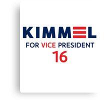 Kimmel VP 16 Canvas Print