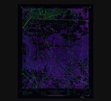 USGS TOPO Map Alabama AL Spruce Pine 305095 1945 24000 Inverted Unisex T-Shirt