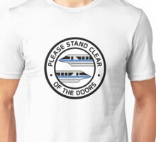 MonorailStandClearBlue Unisex T-Shirt