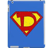 Superman D Letter iPad Case/Skin