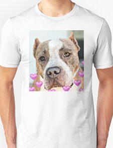 Pit Bull Dog - Pure Love Unisex T-Shirt