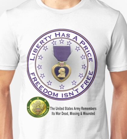 Army Remembers (light colors) Unisex T-Shirt