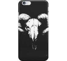 RAM SKULL HEAD iPhone Case/Skin