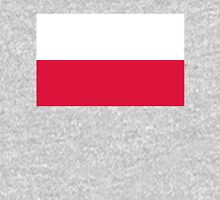 Flag of Poland - Authentic version Women's Fitted Scoop T-Shirt