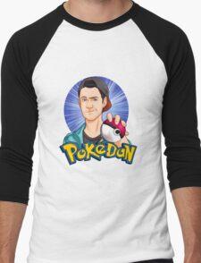 PokéDan Men's Baseball ¾ T-Shirt