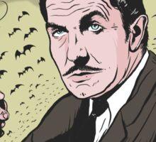 "Vincent Price ""The Bat"" Illustration! Sticker"