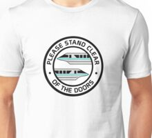 MonorailStandClearTeal Unisex T-Shirt