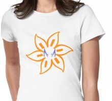 Rex&Cody symbols flower Womens Fitted T-Shirt