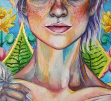 Asparagus Queen (Model: Emery Allen) Sticker