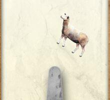 Mind-controlled sheep pinball Sticker