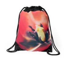 Red Bowl Drawstring Bag