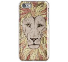 The King is a Flame iPhone Case/Skin