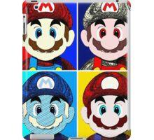 Faces of mario iPad Case/Skin